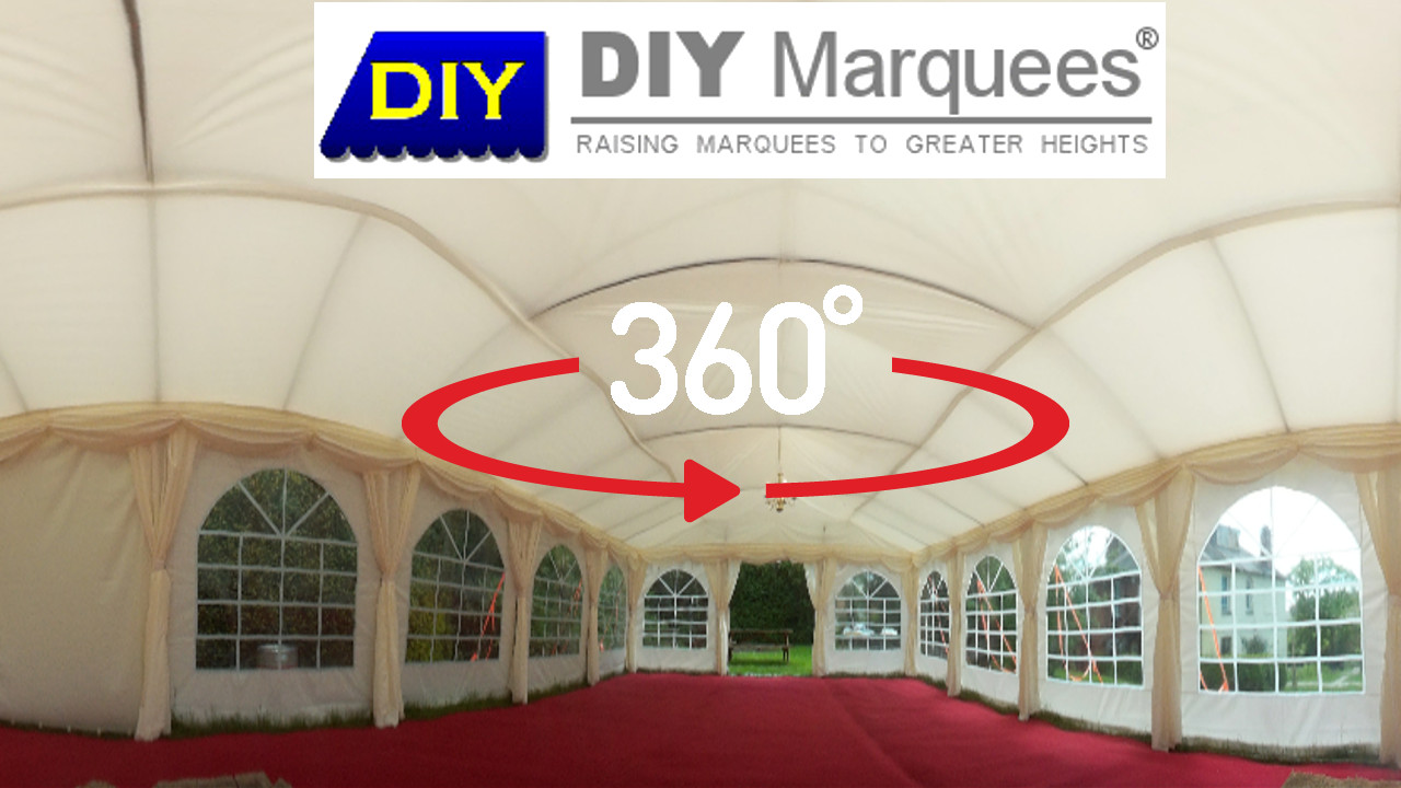 6x12m traditional marquee virtual tour