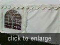 Solid marquee walls for sale