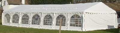 6m x 14m commercial pvc diy marquee