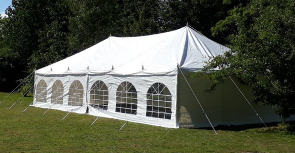 6x12m traditional diy marquee