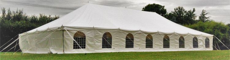 the traditional diy marquee range