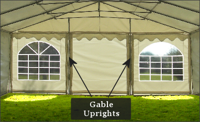 Marquee Gable Uprights