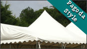 Peaked Roof Marquee for sale