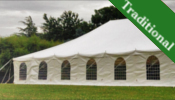 9x18m Traditional marquee for sale
