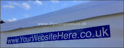 Customising Your DIY marquee