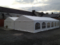 Two 6m x 12m DIY Marquees side by side