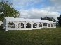 6x18m DIY Marquee with solid frame doors