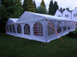 Two 6x12m DIY Marquees side by side