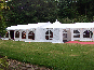 Several DIY Marquees with a Pagoda entrance area