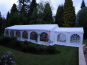 A walkway in to a 6x12m DIY Marquee
