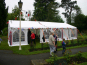 A DIY Marquee used for The Queens diamond jubilee celebrations