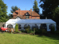 A 6x12m DIY Marquee with diesel indirect heater