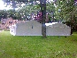 Two 6m x 12m DIY Marquees with a guttering kit along the join