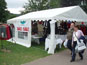 6m x 6m DIY Marquee used as a show stand