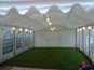 6m x 12m DIY Marquee with roof lining and globe lights