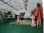 A DIY Marquee with dance floor for a wedding