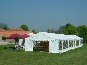 Several DIY Marquees used for a wedding