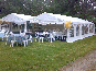 Two DIY Marquees used at a party