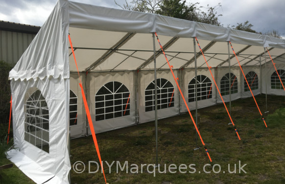 3x12m commercial demi diy marquee