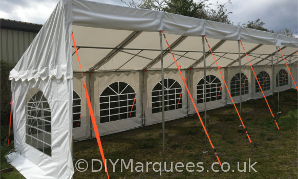 3x14m commercial demi diy marquee