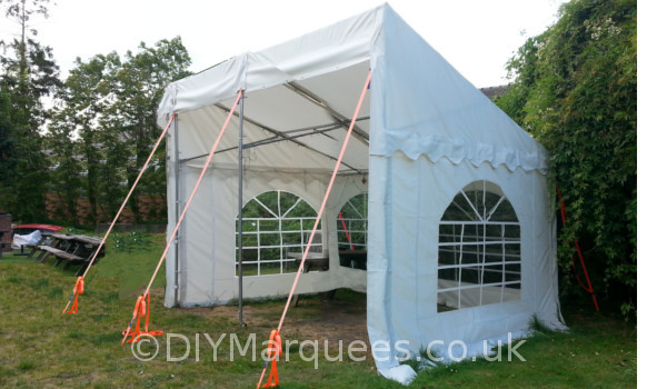 3x4m commercial demi diy marquee