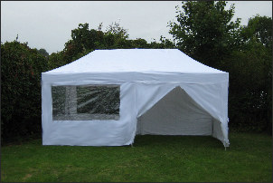 4x6m pop-up diy marquee