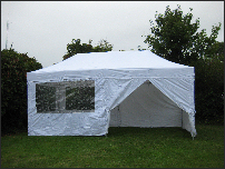 3x6m pop-up diy marquee