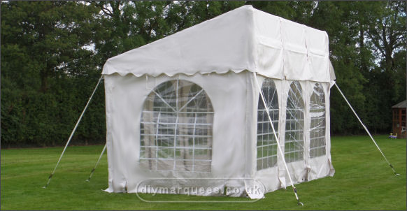 3x6m commercial demi diy marquee