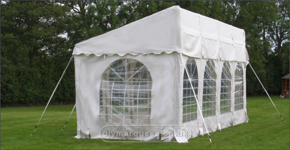3x8m commercial demi diy marquee