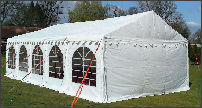 4x10m 500gsm Classic Marquee Roof