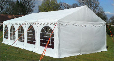 4x10m 650gsm Professional Marquee Roof