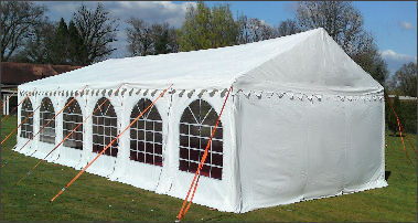 4x12m 500gsm Commercial Marquee Roof