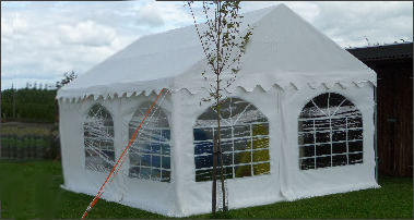 4x5m commercial diy marquee