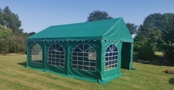 4x6m green commercial diy marquee
