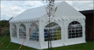 4x6m 500gsm Classic Marquee Roof
