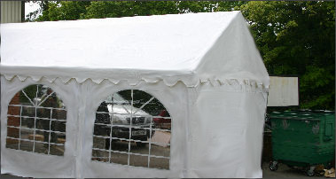 4x4m commercial diy marquee