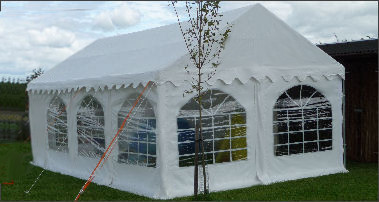 4x7m commercial diy marquee