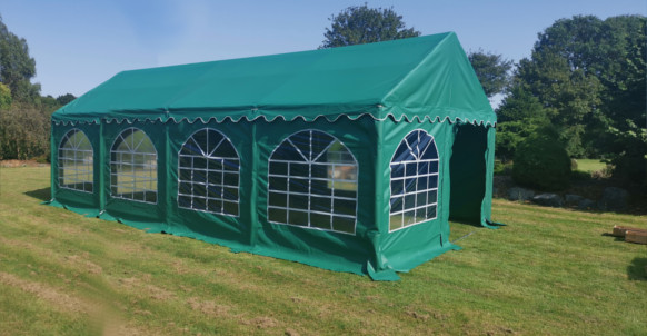 4x8m green commercial diy marquee