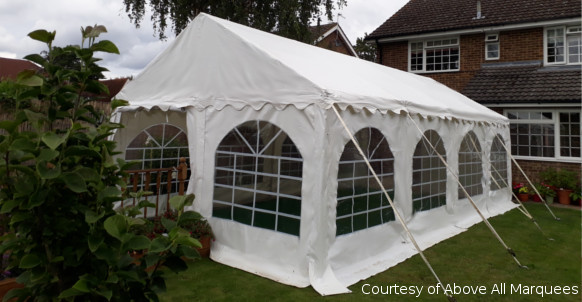 4x8m commercial diy marquee