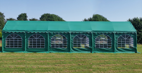 6x12m green commercial diy marquee