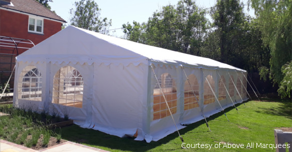 6x16m professional diy marquee