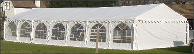 6x14m 500gsm Classic Marquee Roof