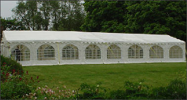 6x16m 500gsm Commercial Marquee Roof