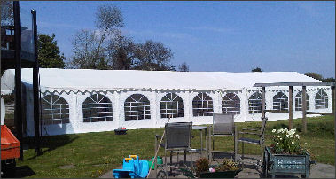 6x20m 500gsm Classic Marquee Roof