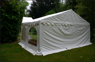 6x4m 500gsm Classic Marquee Roof