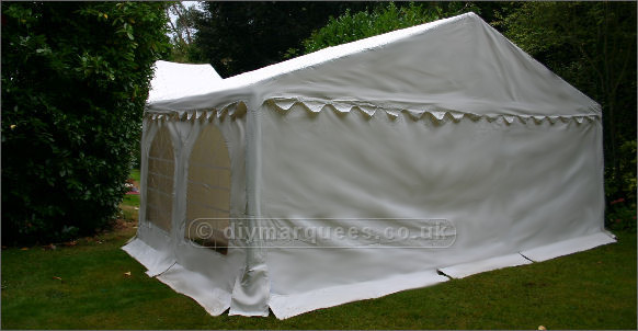 6x4m Classic Diy Marquee 500gsm Pvc Roof And 380gsm Pvc