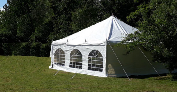 6x6m traditional diy marquee