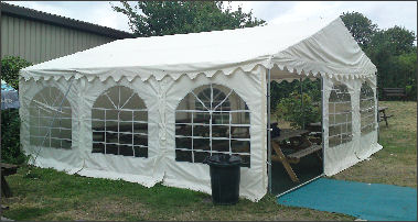 6x6m 500gsm Classic Marquee Roof