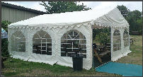 6x6m green commercial diy marquee