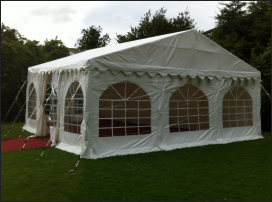 6x6m 500gsm Commercial Marquee Roof
